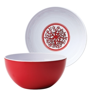 Coral Cereal Bowls