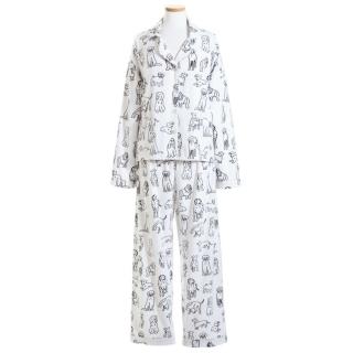 Dog Doodle Flannel Pajamas