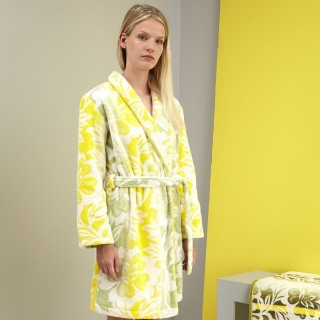 Kenzo Damask Kimono Robe