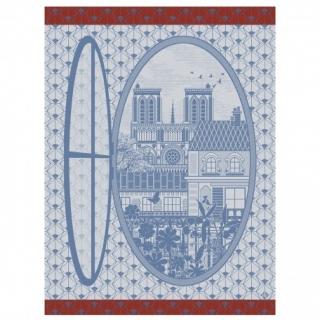 Fenetre Sur Paris Notre Dame Tea Towel