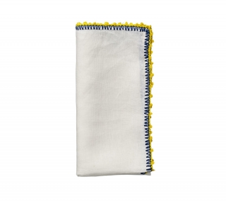 Knotted Edge Napkins