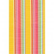 Happy Yellow Stripe Indoor/Outdoor Rug
