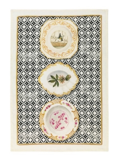 Limoges Nero Kitchen Towel