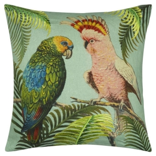 Parrot and Palm Azure