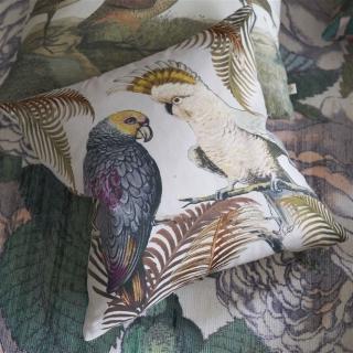 Parrot and Palm Parchment